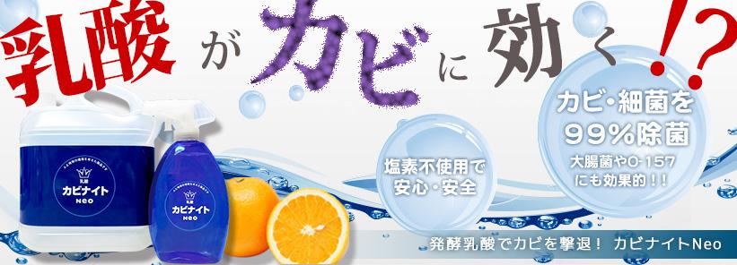乳酸カビナイト カビ取り洗浄剤